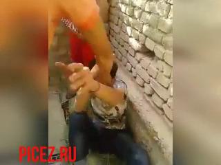 Узбек пиздолиз получил по заслугам UZBAK.RU