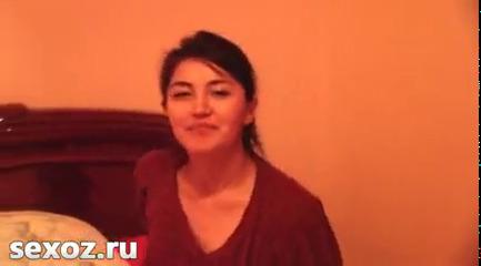 Сабина показала свою вагину перед сексом UZBAK.RU